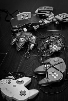 N64 by River1117, via Flickr (God I miss 4 player Split Screen...thank you Nintendo for still letting me play games with friends in the same house on the same TV...)