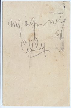 'We are gone'. The note was written in March 1943 by Cilli Naga who was deported from Westerbork, the Netherlands.