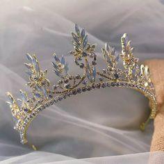 European Rhinestone Wedding Crowns Headpieces Royal Brides Tiaras Headbands Hair Jewelry Bridal Hair Accessory,bridal tiara,wedding headband by Comebackshop on Etsy