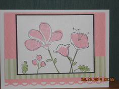 """Stampin' Up stamp set """"Awash with Flowers"""""""
