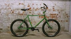 #Retrovelo modelo Otto en verde  www.avantum.bike/retrovelo