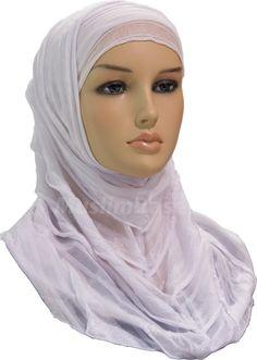 Two Piece Hijab - Drapes - White http://www.muslimbase.com/clothing/hijabs/two-piece-hijab/piece-hijab-drapes-white-p-7954.html