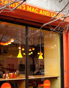 S'MAC, New York City. Restaurant that makes fancy gourmet mac and cheese dishes. If you like Mac and Cheese, then you will love this place. They make gluten free and vegan mac and cheese too. Gourmet Mac And Cheese, Mac Cheese, Cheese Dishes, New York Vacation, New York Travel, York Restaurants, Great Restaurants, Mac Nyc, New York Food