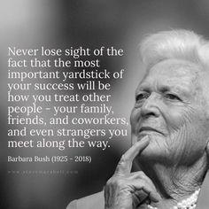 Barbara Bush - 1925 - 2018 RIP, Ms. Bush.
