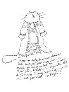 Stray Cat Strut: Grace Coddington Illustrates Her Ideal Punk Met Gala Looks . . . on Cats