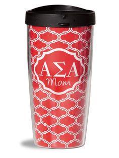 Alpha Sigma Alpha  Mom Tumbler sassysorority.com