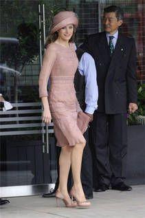 La sencillez del rosa  en la princesa Letizia
