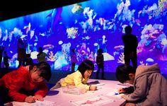 お絵かき水族館 | チームラボ/teamLab