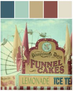 Color Story| Carnival [Coral + Yellow + Green] #stylyze #color #perfectpalettes