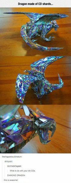 CD shard dragon by GirlGamer1001 on DeviantArt