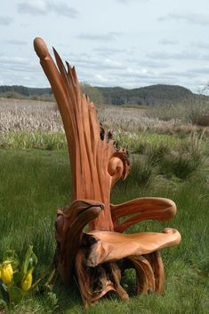 jeffro uitto driftwood sculptures | jeffro-uitto-3  i would love 2 of these!!! in my retirement home!!!