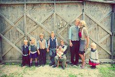 Chelsea Hudson Photography   kids & families- large families