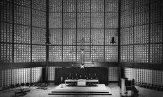 1961 Kaiser-Wilhelm-Gedächtnis-Kirche Berlin Egon Eiermann