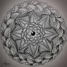 iZentangleWorld Zentangle, Challenge, Tattoos, Tatuajes, Zentangles, Tattoo, Japanese Tattoos, A Tattoo, Tattoo Designs