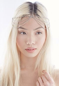 Draped Chain-Front Headpiece | Forever 21 - 1000079847