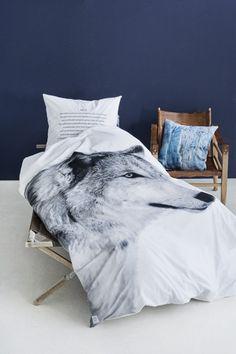 wolf duvet