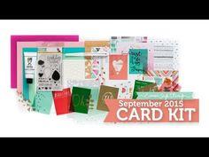 Birthday Wishes SSS September 2015 Card Kit