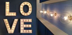 Marquee lights | plus the best Wedding lighting ideas for 2015! Bride's you're going to love this!