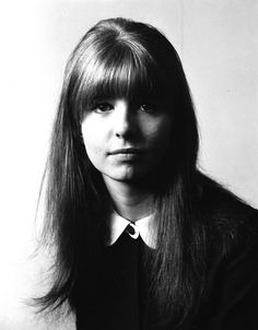 Jane Asher in the 1960s...