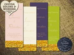 24 best wedding programs and such images on pinterest dream