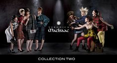 Love Veronica MacIsaac! She does custom tartan pieces so you can show your heritage in style!!