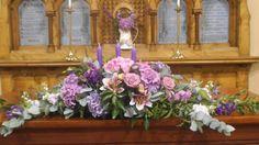 Church Flower Arrangements | altar arrangement | Church flowers