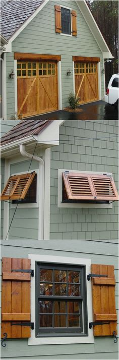Image result for cedar shutters on house colors