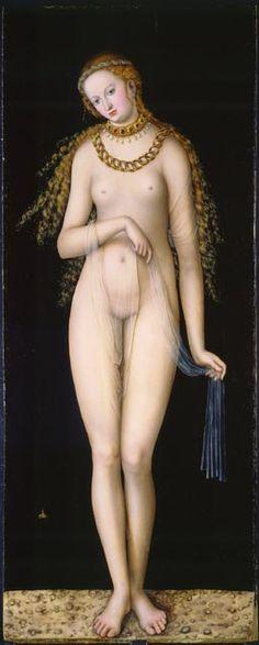 Lucas Cranach - Vénus, v. 1518. Musée des beaux-arts du Canada