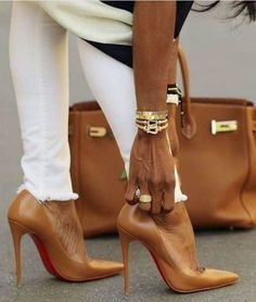 Cartier Hermes and Christian Louboutin #high heels #shoes tidd.ly/ba98d6f3