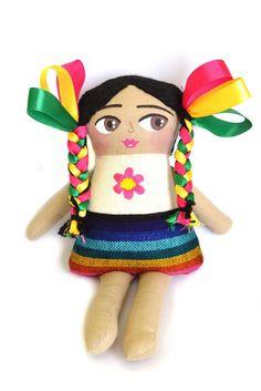 #Adelita. Nueva pieza de #diseñomexicano hecho a mano y con el #corazón. #juguete #handmade
