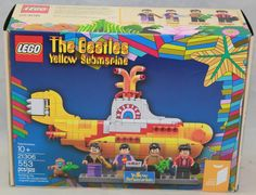 LEGO The Beatles Yellow Submarine  21306  New & Sealed  553 Pieces
