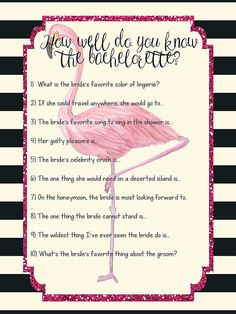 How Well Do You Know the Bachelorette game
