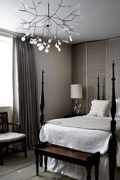 Discover bedroom design ideas on HOUSE - design, food and travel by House & Garden. A restrained, modern interior has been created by Tom Bartlett from Waldo works. Best Interior, Modern Interior, Interior Design, Awesome Bedrooms, Beautiful Bedrooms, Beautiful Wall, Beautiful Interiors, Bedroom Wall Colors, Bedroom Decor