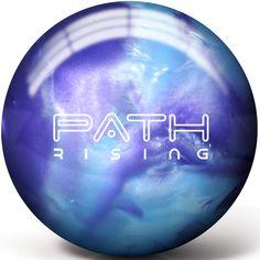 Pyramid Path Rising Purple/Steel Blue Pearl Bowling Balls