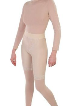 4dd86e75b49 Contour Style 15 - Slip On Mid Thigh Girdle Open Crotch - Large - Beige  Contour.  82.95