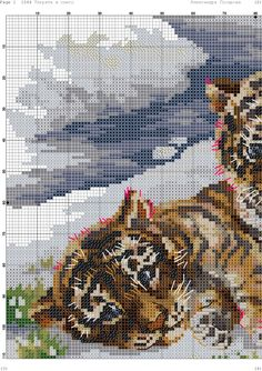 VK is the largest European social network with more than 100 million active users. Cross Stitch Bookmarks, Cross Stitch Art, Cross Stitch Animals, Cross Stitch Designs, Cross Stitching, Cross Stitch Embroidery, Embroidery Patterns, Cross Stitch Patterns, Quilt Patterns