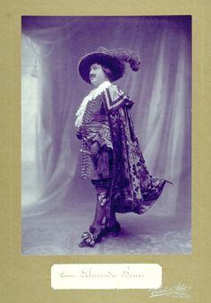 Il tenore Alessandro Bonci - Riccardo in Un ballo in maschera di Verdi (1900) I Casa della Musica (Arch. St. Teatro Regio) - Parma, Varischi  Artico, Milano #VerdiMuseum