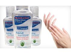$15 for a 30-Pack of 2 Oz. Spa Originals Instant Hand Sanitizers with Aloe & Vitamin E ($89.99 Value)