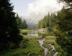 Lake Obernbergersee, Tyrol - Austria