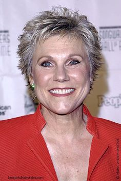 Short Spiky Haircuts For Older Women | ... short and elegant haircut. Terrific texture with spiky look at fringe