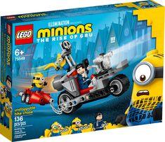 Ostoppbar cykeljakt 75549 | Minions | Official LEGO® Shop SE Toys Uk, Lego Toys, Kids Toys, Lego Lego, Lego Ninjago, Lego Minion, Legos, Modele Lego, Cool Ideas