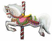 Carousel Horse! www.SweetPeaAndGummyBear.etsy.com