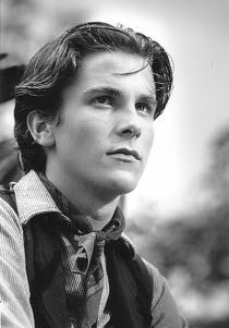 Christian Bale, from Newsies =) I lovE the Newsies!!!!!!! And my namesake of course