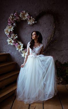 Свадебное платье Элли Girls Dresses, Flower Girl Dresses, Lace Wedding, Wedding Dresses, Flowers, Fashion, Dresses Of Girls, Bride Dresses, Moda