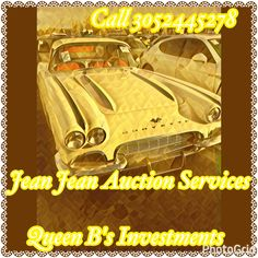 CATCH THE SALE!!!!! CATCH THE SALE!!!! CATCH THE VEHICLE SALE OVER Jean Jean Auction Services!!!!!! THIS IS A QUEEN B's INVESTMENTS PROMOTION!!!! JEAN IS AVAILABLE TO FIND ANY VEHICLE WITHIN YOUR BUDGET AND HE IS A PROFESSIONAL EXPERT ON CARS!!! IF YOU ARE INTERESTED CALL 3042445278 AND CHECK OUT HIS BUSINESS PAGE @ JJAuctionServices🚙💨💨💨