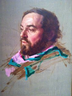 Nelson Shanks portrait of Luciano Pavarotti. Nelson Shanks at Berry-Hill Galleries