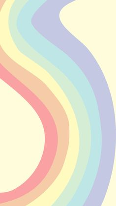 phone wallpaper- 'pastel rainbow'