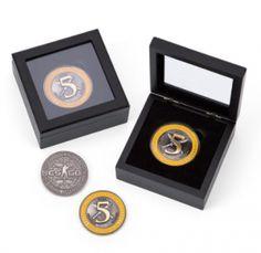Die Counter-Strike Fünf-Jahres-Veteranen-Münze