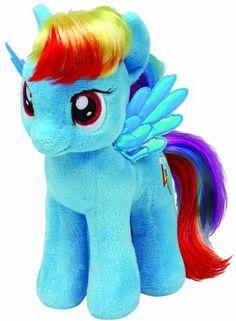 """My Little Pony - Rainbow Dash 8"""" Ty Beanie Babies http://www.amazon.com/dp/B00EIFS8AC/ref=cm_sw_r_pi_dp_zpBVtb1W32E0JGT7"""