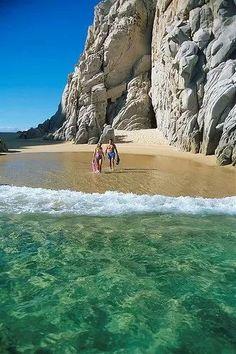 Playa del Amor en Baja Calufornia Sur.